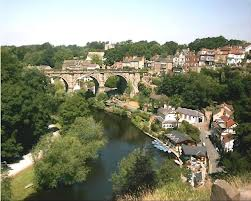The Famous View of Knaresborough and the Nidd Gorge