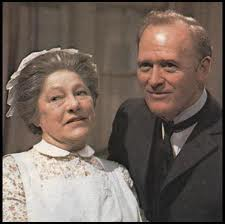 Mrs Bridges and Mr Hudson, Upstairs Downstairs