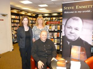 The Three Usual Suspects at Waterstones York