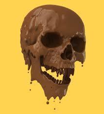skull choc