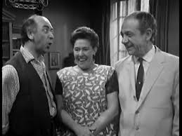 L-R: Keith Marsh, Peggy Mount, Syd James